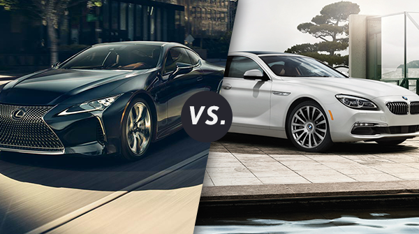 Comparison: 2018 Lexus LC 500 vs 2017 BMW 6 Series