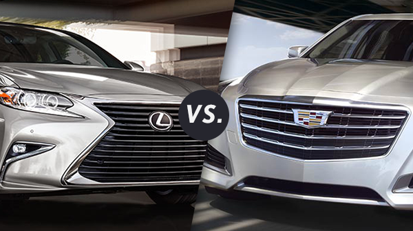 Comparison: 2017 Lexus ES 350 vs 2017 Cadillac CTS